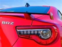 Die Rücklichter des Subaru BRZ. Foto: Klaus H. Frank