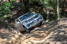Auftauchen: Nicht zu wenig Gas, um am Berg nicht steckenzubleiben. © VW