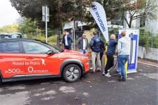 Zwischenstopp an einer 100 kW/h-Schnellladestation. Foto: Auto-Medienportal.Net/Hyundai