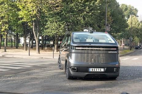 In den USA wird das Autonom Cab zum Beispiel in Versuchen in Las Vegas und an der Universität von Michigan verwendet. Foto: Auto-Medienportal.Net/Navya
