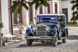 Das luxuriöse Fahrzeug mit seinem Acht-Zylinder-Reihenmotor zeugt von den frühen Glanzzeiten des tschechischen Automobilherstellers. Foto: Auto-Medienportal.Net/Skoda