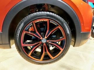 Sieht toll aus: Die Felgen des VW T-Cross. Foto: Klaus H. Frank