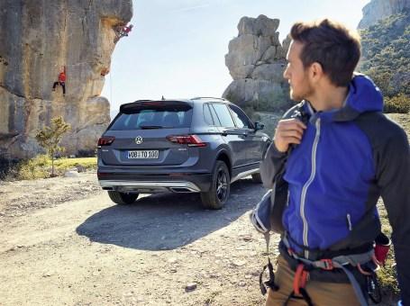 Mit einem Hauch von Abenteuer: Der VW Tiguan Offroad. Foto: VW