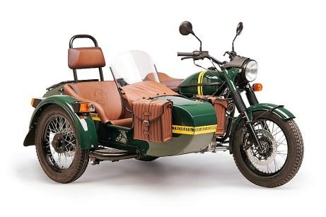 """Die """"Transsib"""" nutzt das Basismodell, verfügt über 18-Zoll-Räder und eine Marzocchi-Telegabel. Foto: Auto-Medienportal.Net/Ural"""