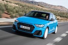"""Auftritt wie ein Großer: der neue Audi A1 in der Farbe """"Turbo blue"""". © Audi"""