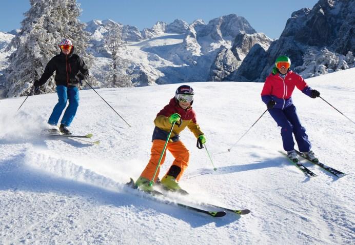 Das ideale Skigebiet für Familien: Foto: Skiregion Dachstein West
