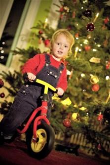 Mit einem Laufrad unterm Baum wird das Fest der Freude noch viel schöner. Foto: Auto-Medienportal.Net/Pressedienst Fahrrad