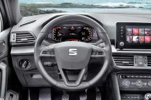 Die Qualität der Materialien und die Verarbeitung im Innenraum besitzen das typische Volkswagen-Niveau – also gut. Foto: Seat
