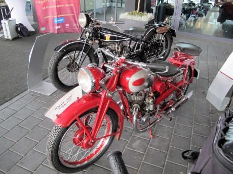 Zündapp Derby Baujahr 1933 und Hecker H4 Baujahr 1928