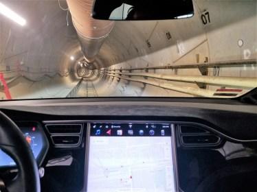 Elon Musk und sein erster Tunnel. Foto: Auto-Medienportal.Net/Boring Company