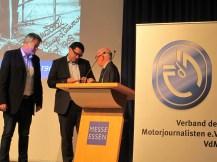 Markus Burgdorf, Sebastion Viehmann und Werner Bicker (von (links)