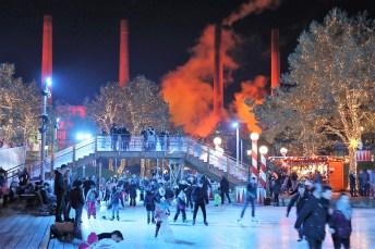 """bis zum 6. Januar 2019 bleibt die VW-Kommunikationswelt Autostadt in Wolfsburg in eine """"Traumhafte Winterwelt"""" verwandelt. Foto: Auto-Medienportal.Net/Autostadt"""