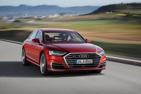 Oberklasse von Audi: Der A8 50 TDI quattro tiptronic. © Audi