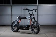 Kleiner City-Flitzer: Dieses Konzeptfahrzeug zeigt eine umweltschonende Alternative für die innerstädtische Fortbewegung. © Harley-Davidson