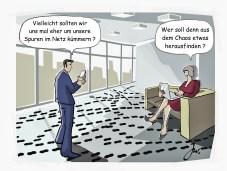 Die Einzelnen im Zwiespalt beim Datenschutz