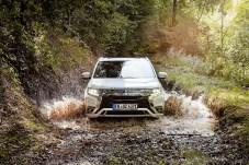 Mit der Kombination aus großer elektrischer Reichweite – beim Outlander sind es bis zu 54 Kilometer – und uneingeschränkter Alltagstauglichkeit bietet die Plug-in Hybridtechnik Elektrifizierung auf intelligente Art. © Mitsubishi