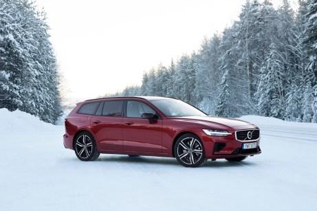 Wer es gerne sportlicher mag, der ist mit dem V60 R-Design mit tiefergelegtem Fahrwerk gut bedient. © Volvo