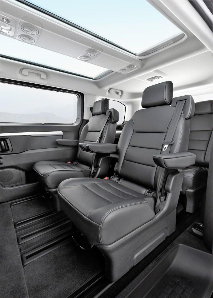Löunge-Atmosphäre im neuen Opel Zafira. © Opel