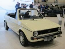Mit Chrom-Stoßstangen glänzt der Cabrio-Prototyp von 1976.