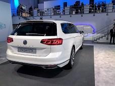 Mit einem weiterentwickelten Plug-In-Hybridantrieb wird Volkswagen den neuen Passat GTE als Limousine und Variant auf den Markt bringen. © Klaus H. Frank