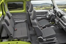 Ein weiterer Punkt auf der Agenda der Jimny-Entwickler war die Neugestaltung des Innenraums. © Suzuki