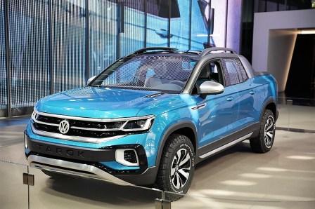 Im Volkswagen Pavillon der Autostadt in Wolfsburg wird der VW Tarok in den kommenden Monaten nun erstmalig in Europa gezeigt. Foto: Auto-Medienportal.Net/Volkswagen