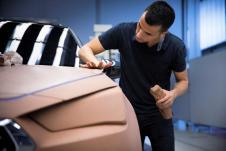 Der Fahrzeug-Bildhauer arbeitet Hand in Hand mit den Designern. © Seat