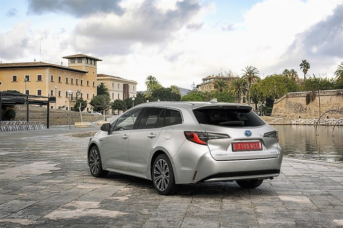 Die Kombiversion (Touring Sport) des neuen Toyota Corolla. © Toyota
