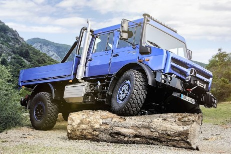Unimog U 4023. Foto: Auto-Medienportal.Net/Daimler