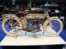 Harley-Davidson Modell 10E Baujahr 1914 mit 9 PS starkem Einliter V2