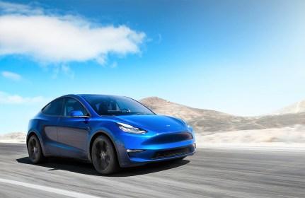 Es soll das meistgebaute Auto der Marke werden: Das SUV namens Model Y. Foto: Auto-Medienportal.Net/Tesla