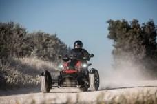Mit dem neuen Ryker von Can-Am ist man auf Schotter bestens aufgehoben - und zwar auf drei Rädern. © Can-Am