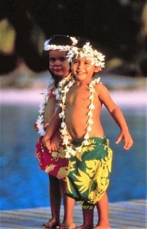 Kinder auf Tahiti © Gebeco Länder erleben