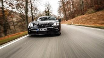 Der erste rein elektrisch betriebene Sportwagen von Porsche, der Taycan, trifft weltweit auf erhebliche Nachfrage. © Porsche