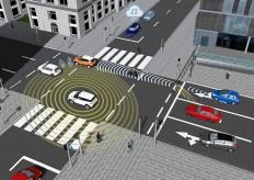 Virtuelle Tests helfen bei der Entwicklung von Technologien für autonomes Fahren. Foto: Auto-Medienportal.Net/IPG Automotive