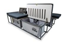 Durch gefräste Öffnungen in den Furnierplatten kann die Luft zirkulieren. Foto: Auto-Medienportal.Net/Visu Sitka