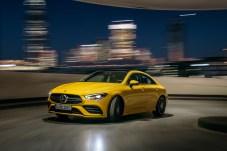 Der CLA 35 4MATIC leistet 306 PS. © Daimler