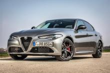 Neu bei der Giulia sind die Versionen Lusso, B-Tech und Veloce Ti. © Alfa Romeo