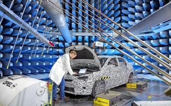Der Opel Corsa im Entwicklungslabor. Foto: Auto-Medienportal.Net/Opel