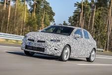 Seit Januar absolviert die sechste Generation des Opel Corsa die abschließende Phase der Entwicklung und absolviert tausende Runden auf Teststrecken, wo ihn die Opel-Ingenieure testen, verfeinern und validieren. Foto: Auto-Medienportal.Net/Opel