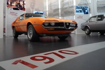 Die wilden Siebziger: Alfa Romeo Montreal. Der V8-Motor mit 147 kW/200 PS stammt aus dem Rennsport. © Mirko Stepan / mid