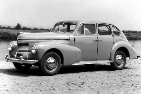 Opel Kapitän von 1938. Foto: Auto-Medienportal.Net/Opel