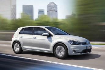 Der VW e-Golf liefert beim ADAC-Ecotest das sauberste Ergebnis ab. © VW