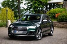 Auch der SQ5 macht im Sportdress eine richtig gute Figur. © Audi