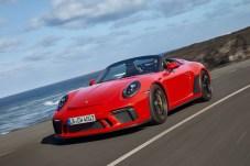 Wenn auf einem Porsche der Speedster-Schriftzug zu finden ist, dann steht dieser für puristische Sportwagen-Kunst. © Porsche