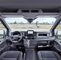 Der Ford Transitz besitzt das Kommunikations- und Entertainment-System Ford Sync mit Sprachbedienung und Acht-Zoll-Touchscreen. © Ford