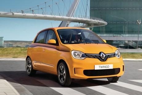 Der neue Twingo ist an seinen Scheinwerfern mit C-förmigen Tagfahrleuchten zu erkennen. © Renault