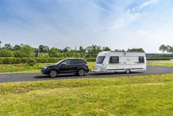 Auch auf die richtige Beladung kommt es an: Schwere Teile werden immer in der Nähe der Achsen platziert, um die Fahrstabilität des Anhängers möglichst wenig zu beeinträchtigen. Foto: Auto-Medienportal.Net/Subaru