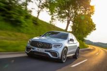 """280 km/h schafft der GLC 63 4Matic+ als S-Version. Ohne """"S"""" sind es immerhin 250 km/h. © Daimler"""