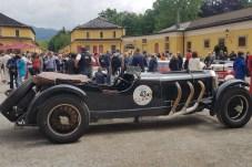 Glorreiche Rückkehr des Siegerautos vom ersten Rennen aus dem Jahr 1929. Der Mercedes-Benz SS aus dem Jahr 1929 ist 90 Jahre später wieder am Start. © Jutta Bernhard / mid